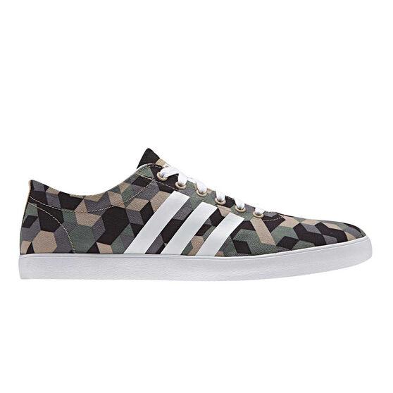 458acb3583 adidas VS Easy Vulc Mens Casual Shoes Green   White US 11