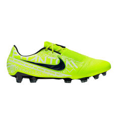 Nike Phantom Venom Elite Football Boots Green / White US Mens 7 / Womens 8.5, Green / White, rebel_hi-res
