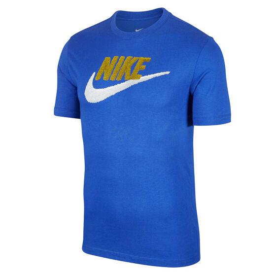 Nike Sportswear Mens Brandmark Tee, Blue, rebel_hi-res