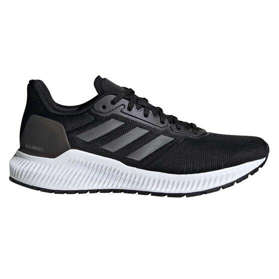adidas Solar Ride Womens Running Shoes, Black / Navy, rebel_hi-res