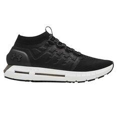 Under Armour HOVR Phantom Mens Running Shoes Black / White US 7, Black / White, rebel_hi-res