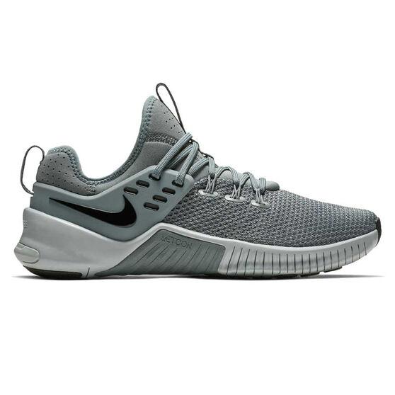 Nike Free Metcon x Mens Training Shoes Grey / Black US 9.5, Grey / Black, rebel_hi-res