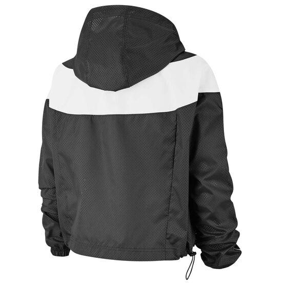 Nike Womens Sportswear Heritage Jacket, Black, rebel_hi-res