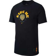 Nike Mens Dri-FIT Lebron James Tee Black XS, Black, rebel_hi-res