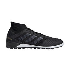 adidas Predator 19.3 Touch and Turf Boots Black / Gold US Mens 7 / Womens 8, Black / Gold, rebel_hi-res