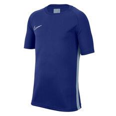 Nike Boys Dri-FIT Academy Tee Blue XS, Blue, rebel_hi-res