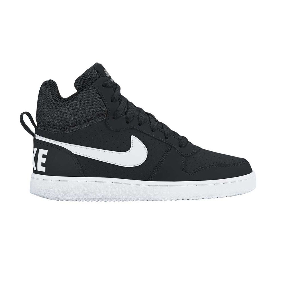 quality design 45c01 a2dac Nike Court Borough Mid Mens Casual Shoes Black   White US 9, Black   White