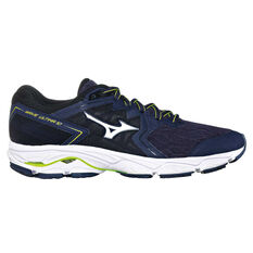6289b6f2ed8263 Mizuno Wave Ultima 10 Mens Running Shoes Blue   White US 8