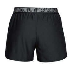 Under Armour Womens Play Up 2 in 1 Training Shorts Black XXS, Black, rebel_hi-res