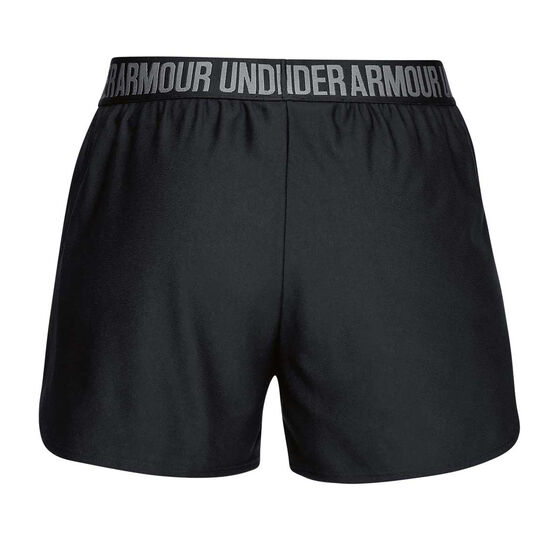 Under Armour Womens Play Up 2 in 1 Training Shorts, Black, rebel_hi-res
