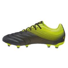 adidas Copa 19.3 Mens Football Boots Black / Yellow US Mens 7 / Womens 8, Black / Yellow, rebel_hi-res