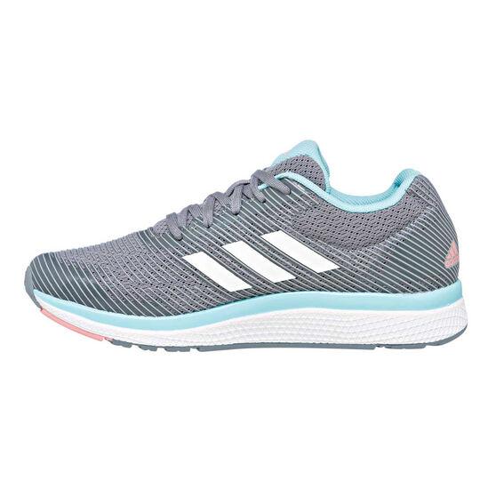 e26a6a82d adidas Mana Bounce 2.0 Girls Running Shoes Grey   White US 6