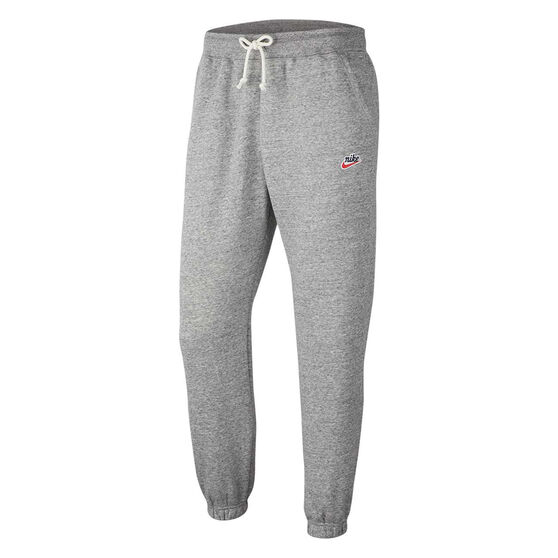 Nike Sportswear Heritage Mens Track Pants, Grey, rebel_hi-res