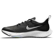 Nike Air Zoom Speed 2 Kids Running Shoes Black/White US 1, Black/White, rebel_hi-res