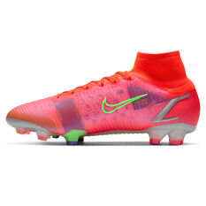 Nike Mercurial Superfly 8 Elite Football Boots Crimson US Mens 4 / Womens 5.5, Crimson, rebel_hi-res