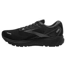 Brooks Ghost 14 Mens Running Shoes Black US 8, Black, rebel_hi-res