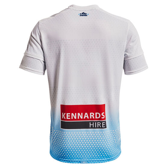 Sydney FC 2021/22 Mens Replica Away Jersey White S, White, rebel_hi-res
