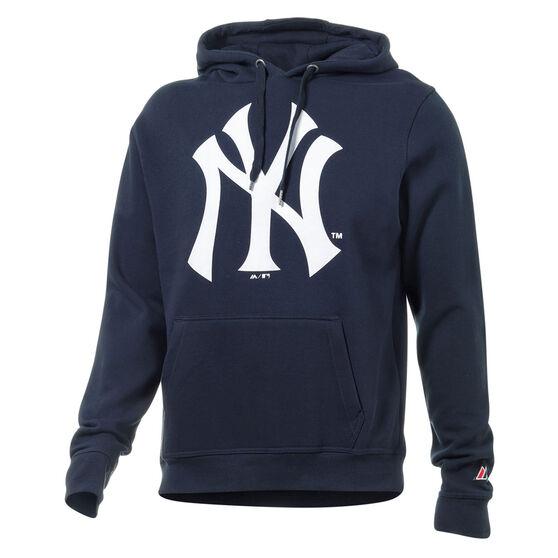 New York Yankees Mens Prism Hoodie, Navy, rebel_hi-res