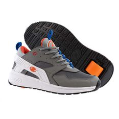 Heelys Force Boys Shoes Grey / Blue US 1, Grey / Blue, rebel_hi-res