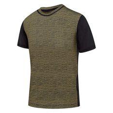 Speedo Boys Salty Rash Vest Black / Grey 8, Black / Grey, rebel_hi-res
