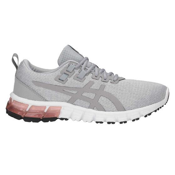 Asics GEL Quantum 90 Womens Training Shoes Grey / White US 6, Grey / White, rebel_hi-res
