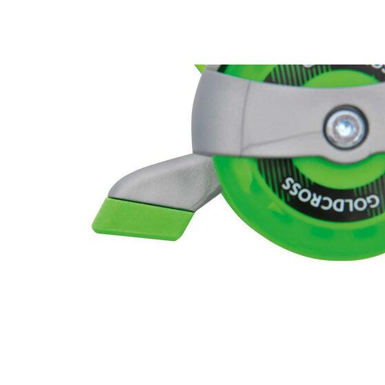 Goldcross GXC145 Inline Skates, Green, rebel_hi-res