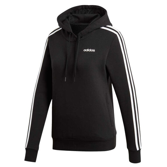 adidas Womens Essentials 3 Stripes Pullover Hoodie, , rebel_hi-res