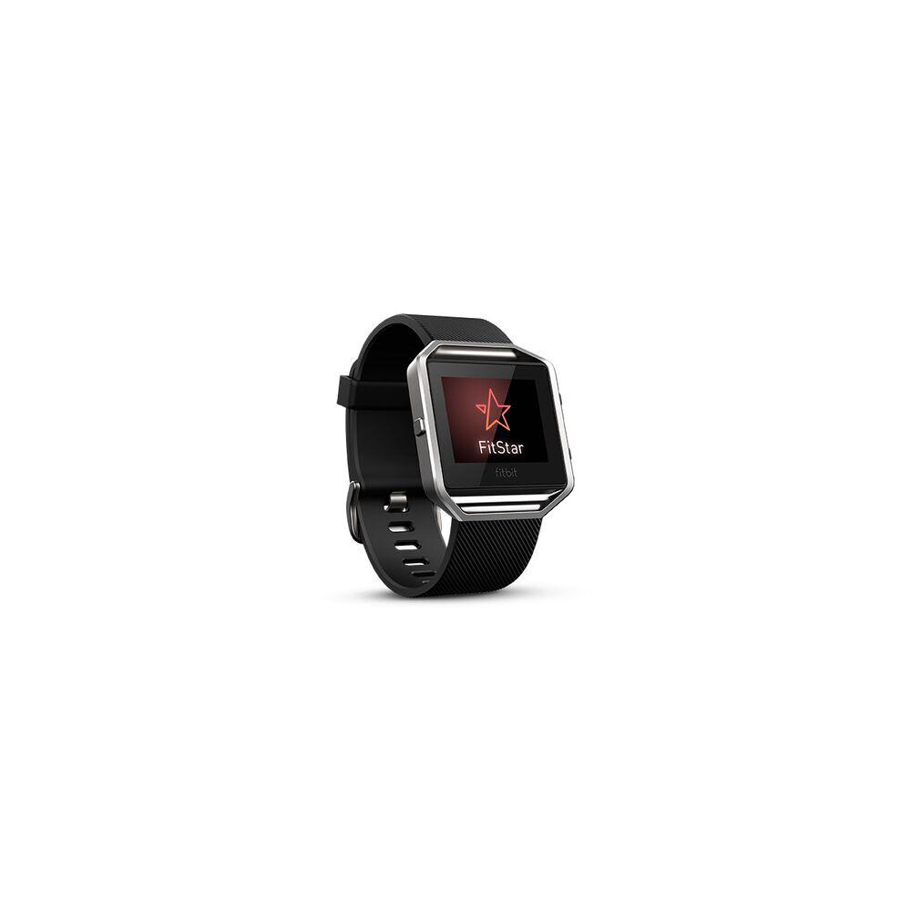 Fitbit Blaze Smart Fitness Watch Black Silver S Rebel Sport Small Hi
