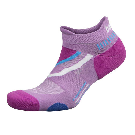 Balega UltraGlide No Show Socks, Pink, rebel_hi-res