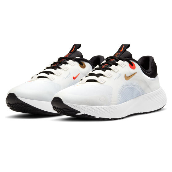 Nike React Escape Run Womens Running Shoes, White/Gold, rebel_hi-res