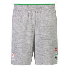 New Zealand Warriors 2021 Mens Gym Shorts Grey S, Grey, rebel_hi-res