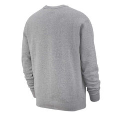 Nike Sportswear Mens Club Sweatshirt Grey XS, Grey, rebel_hi-res