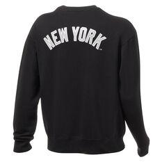 New York Yankees Mens Gamily Crew Sweatshirt, Black, rebel_hi-res