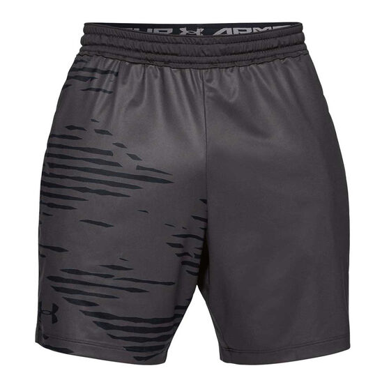 Under Armour Mens MK 1 7In Camo Print Shorts, , rebel_hi-res