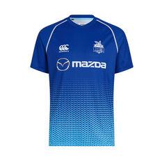 North Melbourne Kangaroos 2019 Mens Training Tee Blue S, Blue, rebel_hi-res