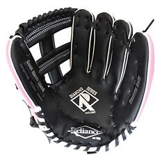 Reliance Diamond 11.5in Left Hand Throw Baseball Glove Black / Pink, , rebel_hi-res