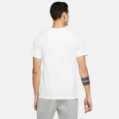 Nike Mens Sportswear Just Do it Tee White XS, White, rebel_hi-res