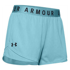 Under Armour Womens Play Up 3.0 Twist Shorts Blue XS, Blue, rebel_hi-res