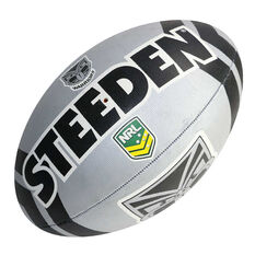 Steeden NRL Warriors Supporter Rugby League Ball, , rebel_hi-res