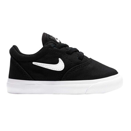 Nike SB Charge Canvas Toddlers Shoes, Black, rebel_hi-res