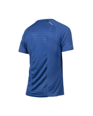 2XU Mens XVENT Short Sleeve Top Blue S, Blue, rebel_hi-res