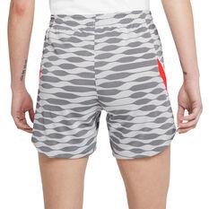 Nike Womens Dri-FIT Strike Soccer Shorts White XS, White, rebel_hi-res
