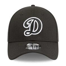 Los Angeles Dodgers 39THIRTY Black White Cap Black / White S / M, Black / White, rebel_hi-res
