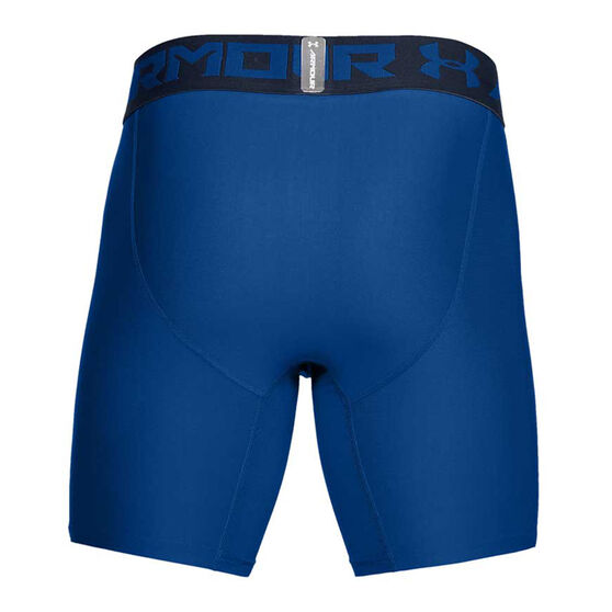 Under Armour Mens HeatGear Armour 2.0 Compression Shorts, Blue, rebel_hi-res