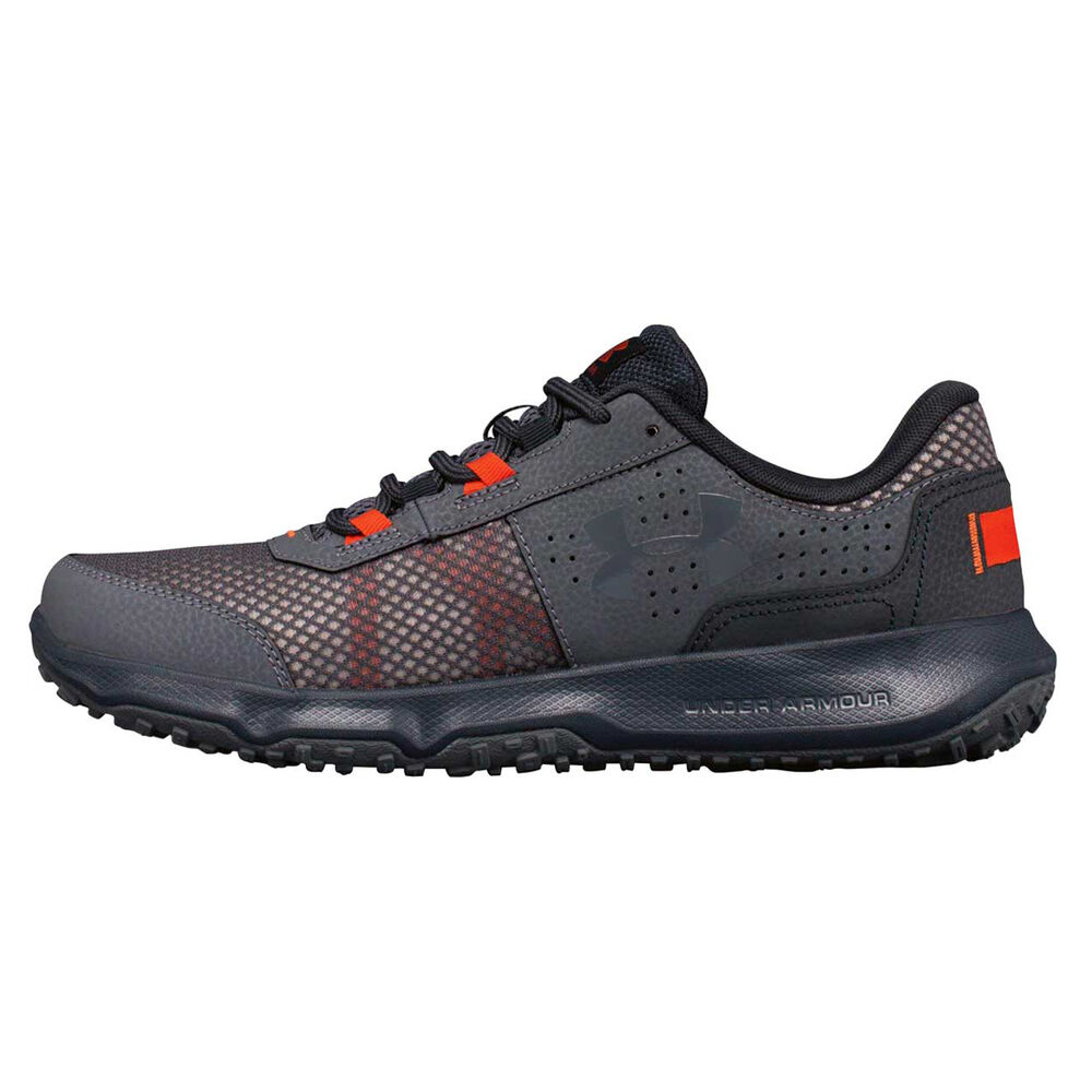 d5a86789bb08 Under Armour Toccoa Mens Trail Running Shoes Grey   Red US 7