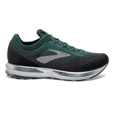 Brooks Levitate 2 Mens Running Shoes Green / Grey US 8, Green / Grey, rebel_hi-res