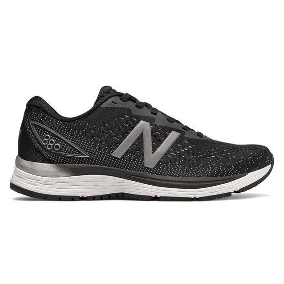 New Balance 880v9 Womens Running Shoes, Black / White, rebel_hi-res