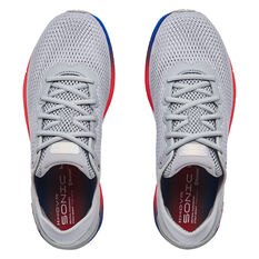 Under Armour HOVR Sonic 4 Colourshift Mens Running Shoes, Grey/Blue, rebel_hi-res