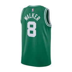 Nike Boston Celtics Kemba Walker Mens Icon Edition Swingman Green / White S, Green / White, rebel_hi-res