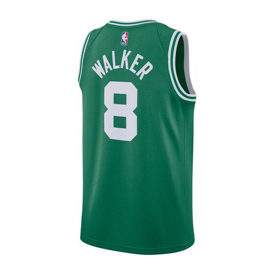 Nike Boston Celtics Kemba Walker Mens Icon Edition Swingman, Green / White, rebel_hi-res